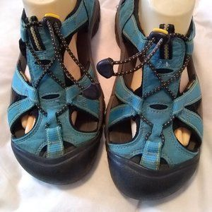 Womens Keen Venice H2 Sports Sandals 9.5 Blue